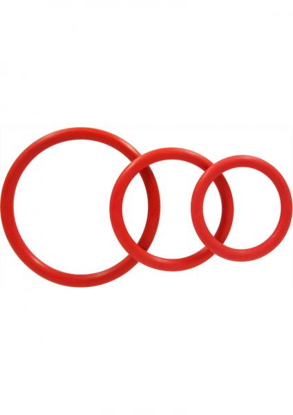 Rubber C Ring Set - Red