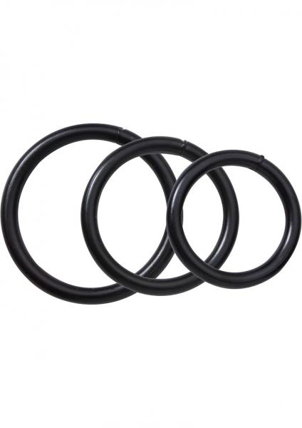 Black Steel O-Ring Set