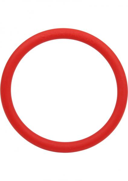 Rubber Cock Ring 2 Inch - Red
