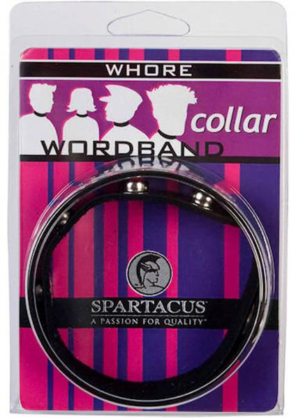 Wordband Collar - Whore