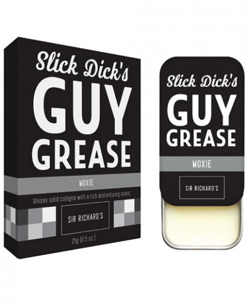 Sir Richard's Slick Dick Guy Grease Solid Cologne Moxie .28oz