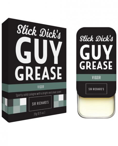 Slick Dicks Guy Grease Solid Cologne Vigor .28oz