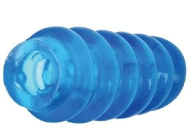 Cyberskin Extra Long Reversible Stroker Blue