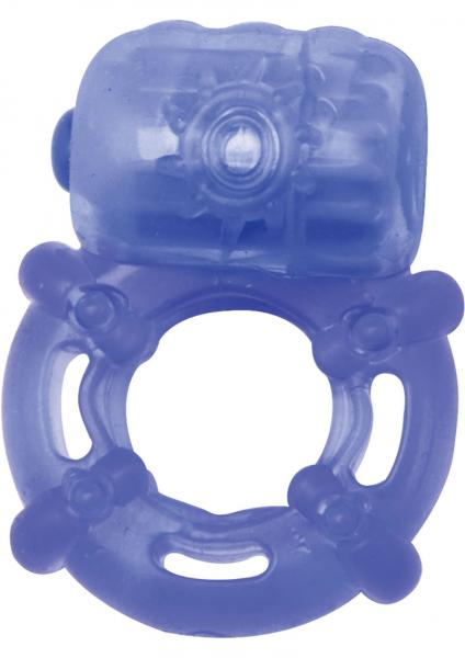 Climax Juicy Rings Blue Vibrating Ring