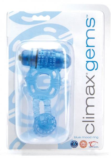 Climax Gems Blue Mood Ring Cock Ring