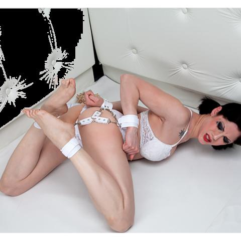 Asylum Patient Hog Tie White