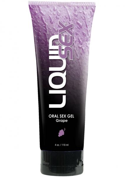 Liquid Sex Oral Sex Gel Grape 4 Ounce