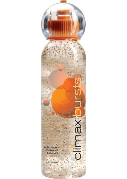 Climax Bursts Aphrodisiac Enhanced Water Based Lube 4oz