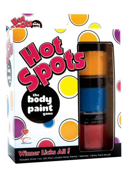 Hot Spots The Body Paint Game