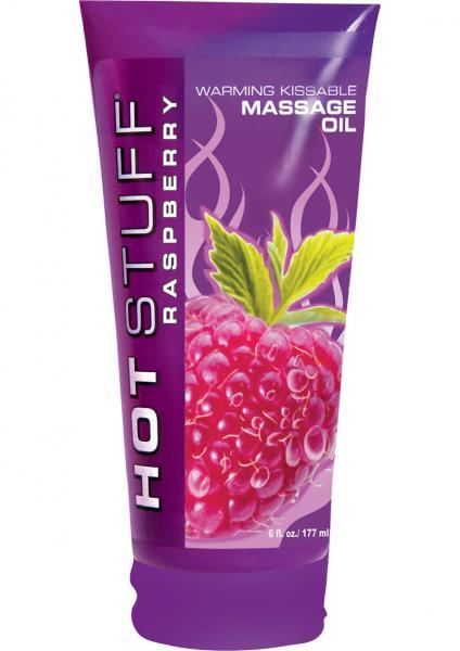 Hot Stuff Warming Massage Oil Raspberry 6oz