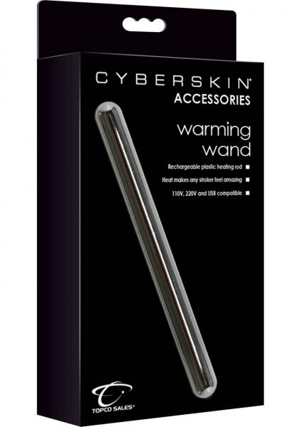 Cyberskin Accessories Rechargeable Plastic Warming Wand 7 Inch