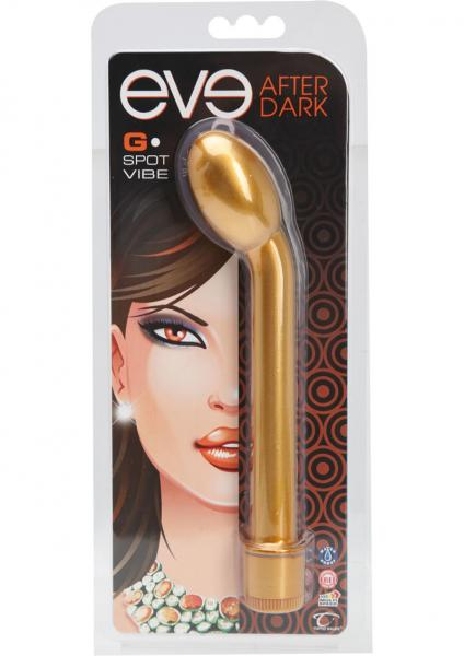 Eve After Dark G-Spot Vibe Honey Gold