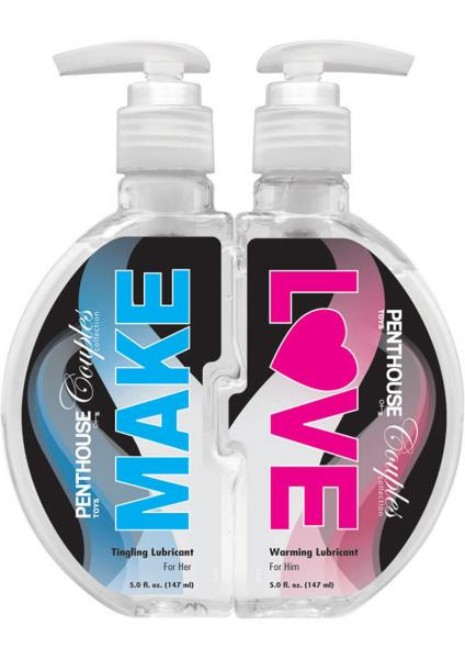 Penthouse Couples Make Love Warming & Tingling Lubricants 2 Pack 5oz