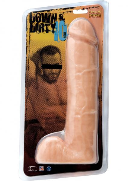 Down & Dirty 10 inches Dong Light Beige