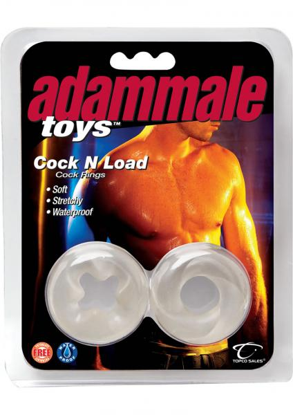 Cock N Load C Rings - Clear