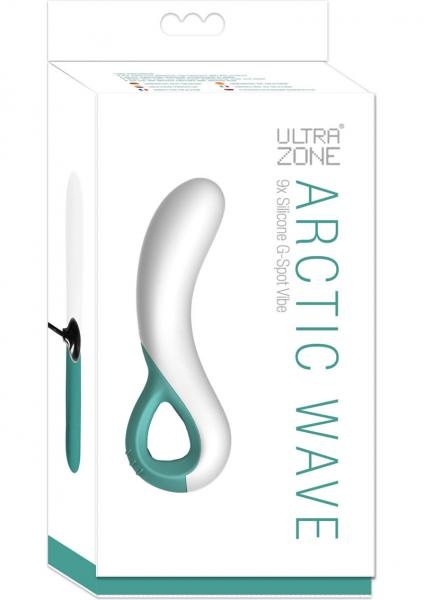 Ultra Zone Artctic Wave 9X Silicone G Spot Vibe Waterproof 5.5 Inch