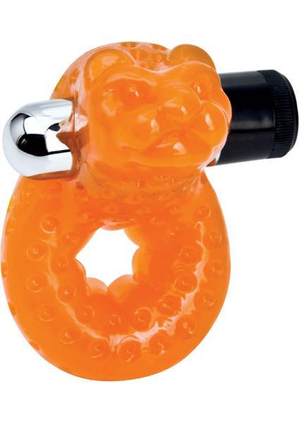 Sex Please Morozko Orange Vibrating Cock Ring