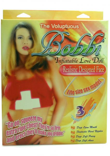 THE VOLUPTUOUS BOBBI INFLATABLE LOVE DOLL