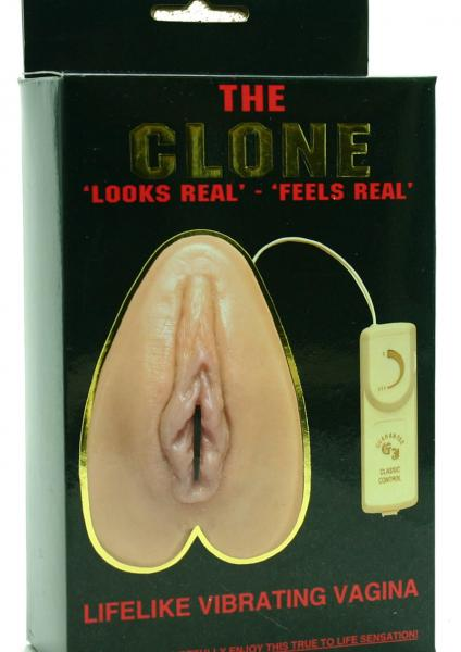 The Clone Vibrating Vagina Beige