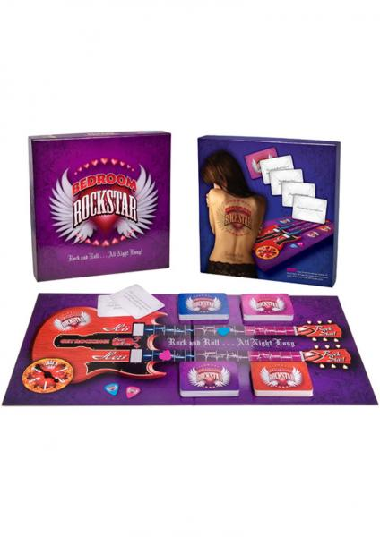 Bedroom Rockstar Board Game