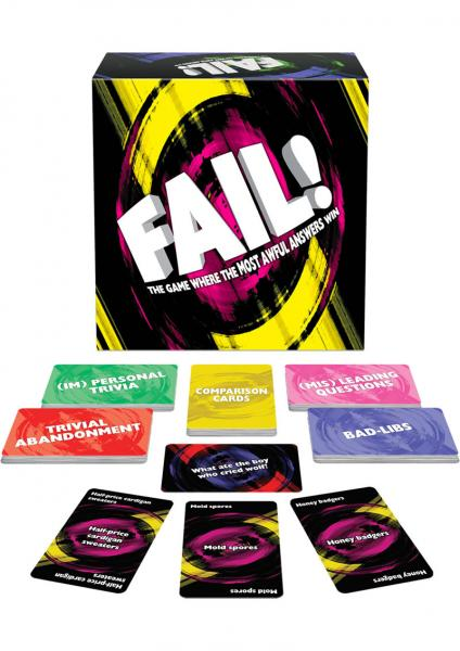 Fail Card Game
