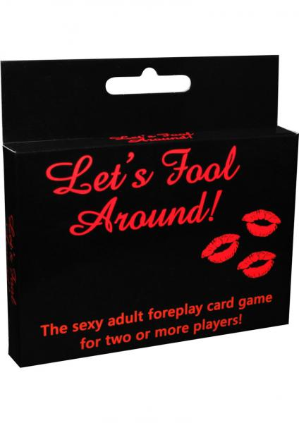 Lets Fool Around Card Game