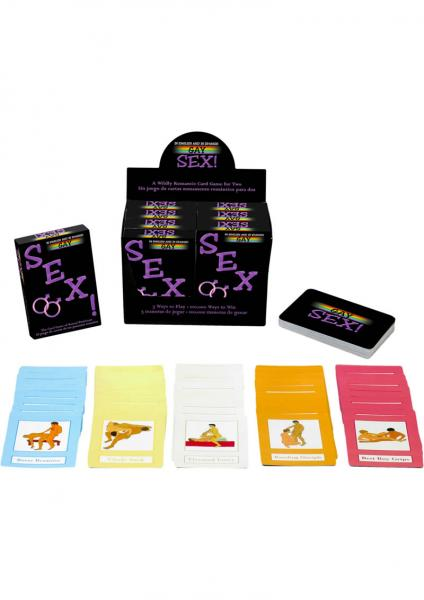 Gay Sex The Card Game