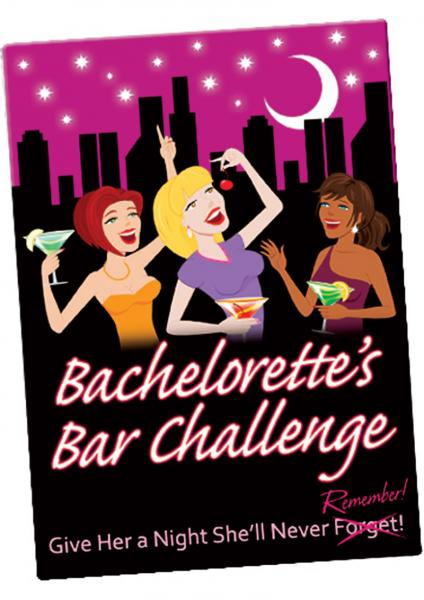 Bachelorettes Bar Challenge Cards