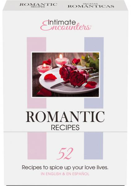 Romantic Recipes 52 Cards