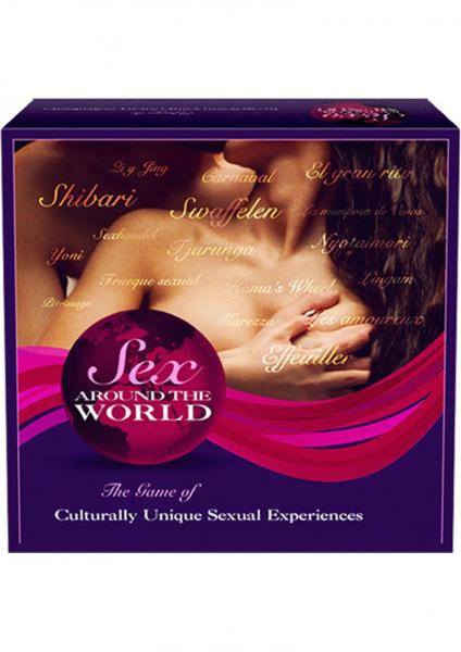 Sex Around The World Couples Game