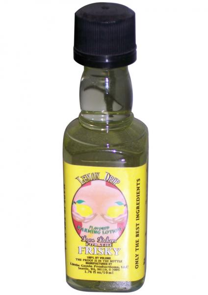 Love Lickers Warming Lotion Lemon Drop 1.76 Ounce