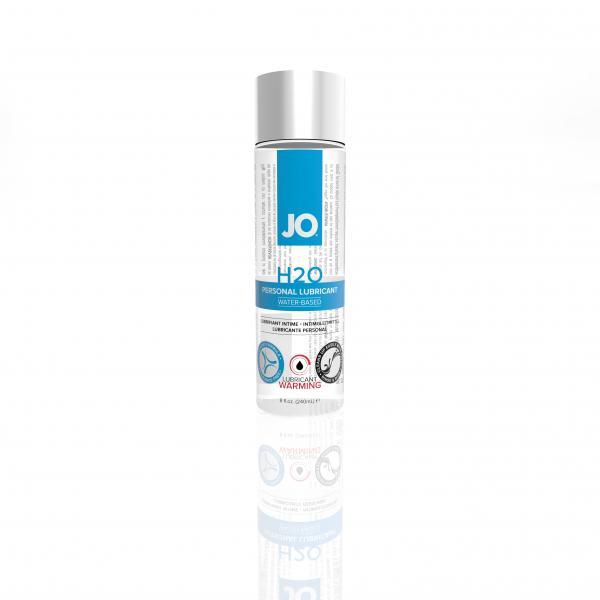 Jo H2O Warming Water Based Lubricant 8 oz