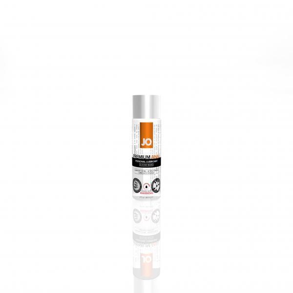 Jo Anal Premium Warming Silicone Lubricant 2 oz