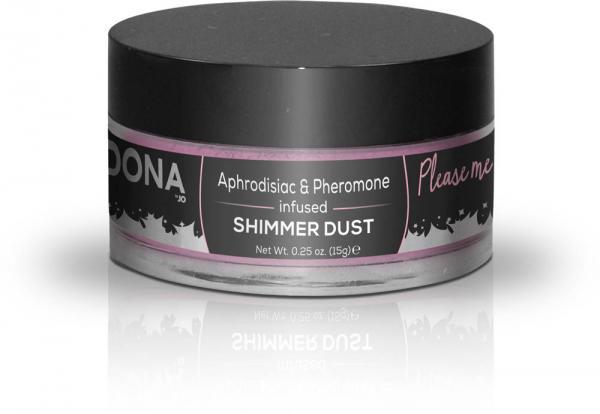 Dona Shimmer Dust Pink .25oz