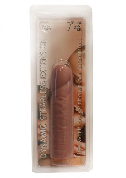 Doctor Loves Dynamic Strapless Penis Extension 7 Inch Flesh