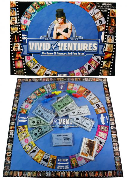 Vivid Ventures Board Game The Game Of Finances And Fine Asses