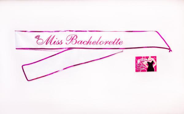 Miss Bachelorette Party Sash 5 Foot