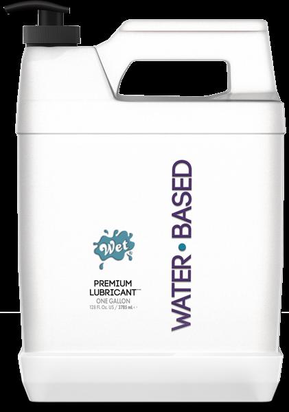 Wet Original Gel Lubricant Water Based One Gallon