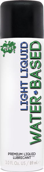 Wet Light Water Based Lubricant 3oz