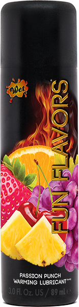 Wet Fun Flavors 4-In-1 Lubricant Passion Fruit Pizzazz 3oz
