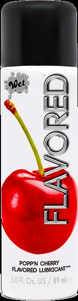Sweet Cherry Wet Flavored Gel Lubricant 3 oz