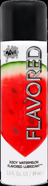 Wet Flavored Gel Lubricant Juicy Watermelon 3oz