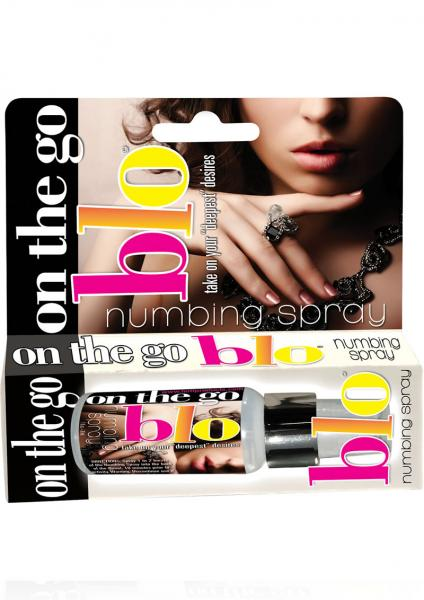 On The Go Blo Numbing Spray 1 Ounce Spearmint