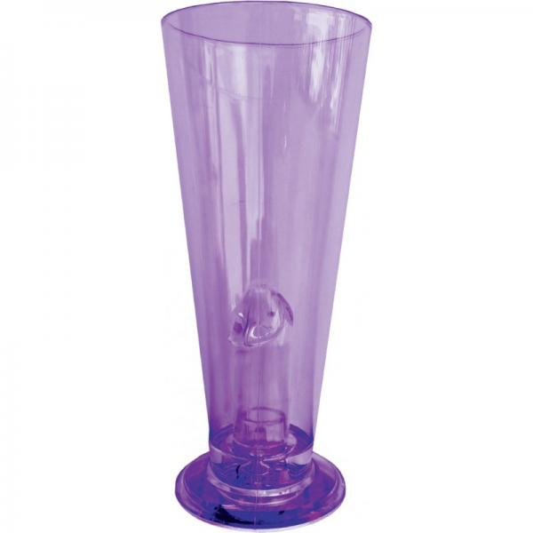 Beer Glass Light Up Pecker Party Purple