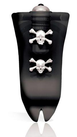 Dare Devil Skull And Bones Waterproof Tongue Vibe Black