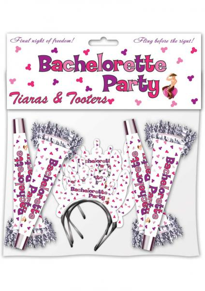 Bachelorette Party Tiaras And Tooters 8 Per Pack