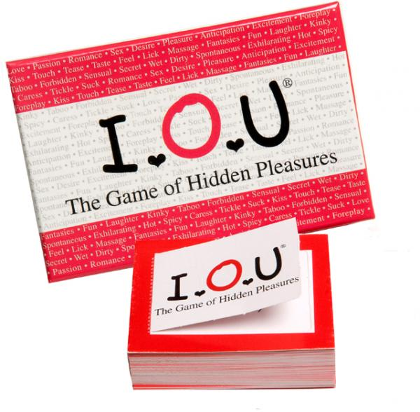 I.O.U The Game Of Hidden Pleasures