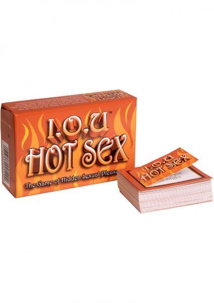 IOU Hot Sex The Game Of Hidden Sexual Pleasures