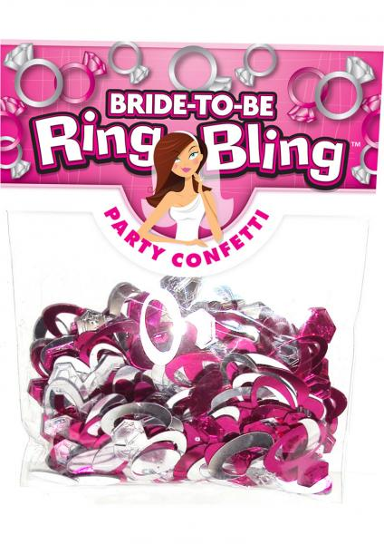 Bride To Be Ring Bling Party Confetti
