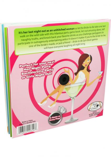 Bride To Be Spin Book